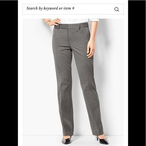 Talbots barely boot grey dress pants